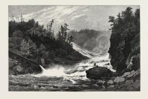 French Canadian Life, Shawenegan Falls, Canada, Nineteenth Century