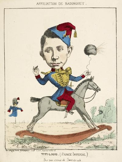 French Caricature - Titi-Louis--Giclee Print