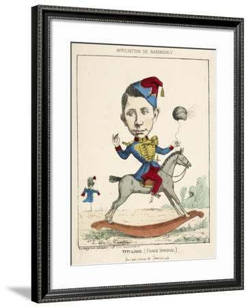French Caricature - Titi-Louis--Framed Giclee Print