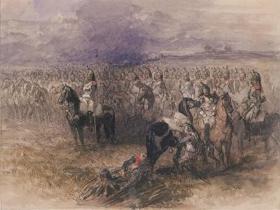 French Cavalry, 1851-John Gilbert-Giclee Print