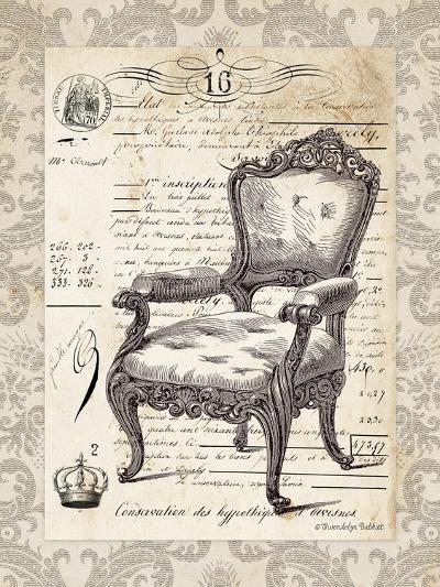 French Chair II-Gwendolyn Babbitt-Art Print