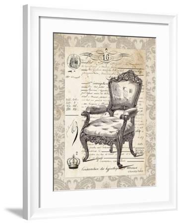 French Chair II-Gwendolyn Babbitt-Framed Art Print
