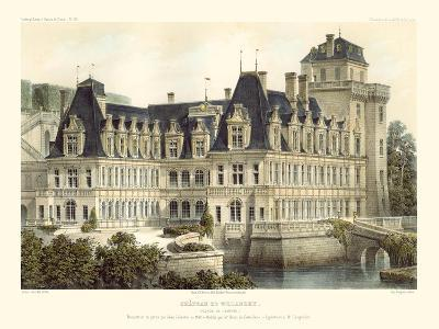 French Chateaux V-Victor Petit-Art Print