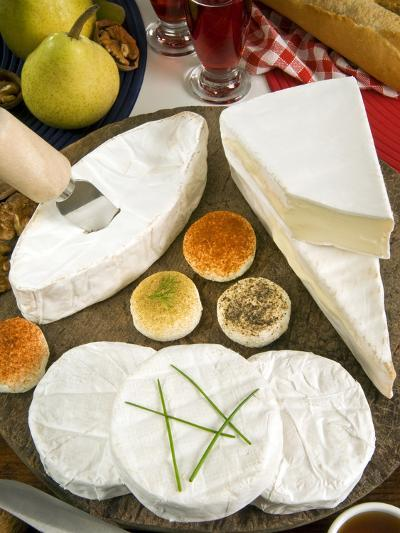French Cheeses, France-Nico Tondini-Photographic Print