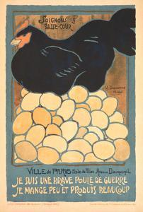French Chicken with Many Eggs