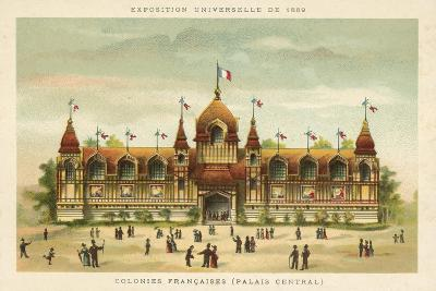 French Colonies (Central Palace), Exposition Universelle 1889, Paris--Giclee Print
