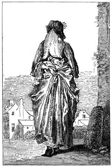 French Costume-Jean-Antoine Watteau-Giclee Print