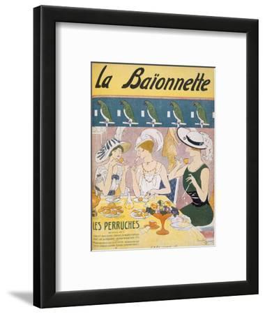 Cover Illustration from 'La Baionnette' Magazine, 1914-18 (Colour Litho)