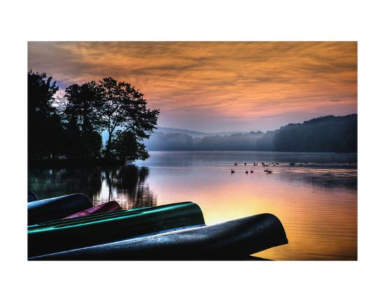French Creek Sunrise-Robert Lott-Art Print