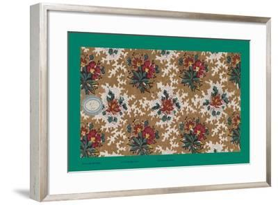 French Fabrics, 1800-50--Framed Giclee Print