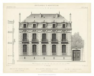 French Facade II-Vision Studio-Giclee Print
