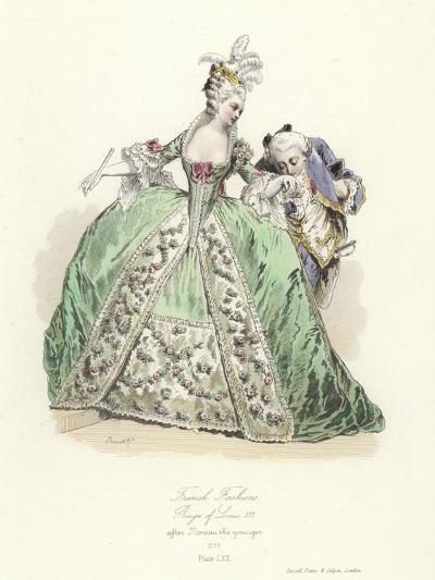 French Fashions, Reign of Louis XVI--Giclee Print
