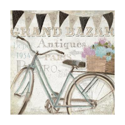 French Flea Market II-Emily Adams-Art Print
