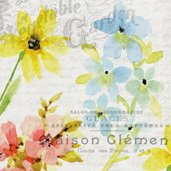 French Floral 2-Kimberly Allen-Art Print