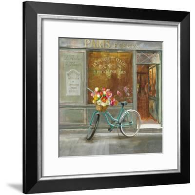 French Flowershop v2-Danhui Nai-Framed Art Print