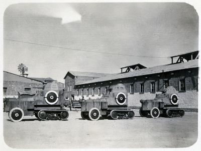 French Foreign Legion Camp, 20th Century--Giclee Print