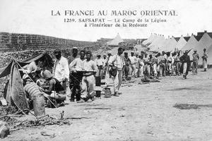 French Foreign Legion in Safsafat, Eastern Morocco, 20th Century