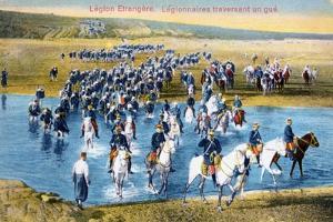 French Foreign Legion, Morocco, C1900