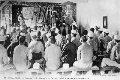French Foreign Legion, Sidi Bel Abbes, Algeria, 20th Century-J Geiser-Giclee Print