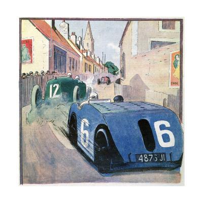 French Grand Prix, Circuit De Touraine, Tours, France, 1923--Giclee Print