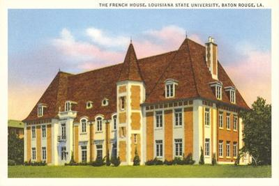 French House, LSU, Baton Rouge
