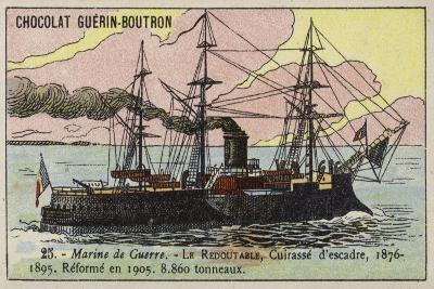 French Ironclad Redoutable, 1876--Giclee Print