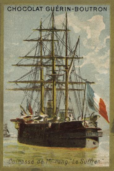 French Ironclad Suffren--Giclee Print