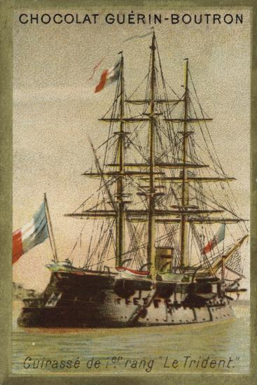 French Ironclad Trident--Giclee Print