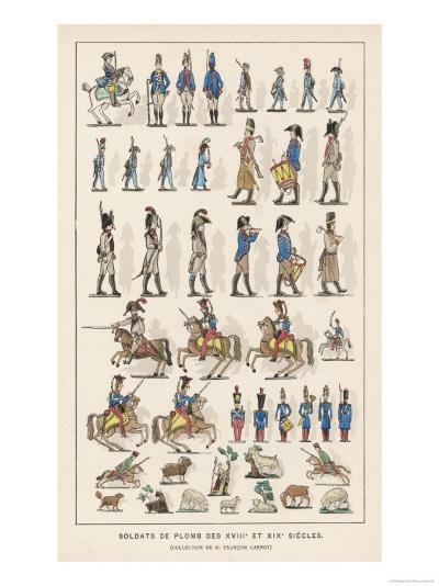French Lead Toy Soldiers--Giclee Print