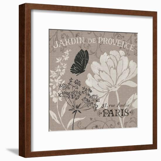 French Linen Garden III-Daphne Brissonnet-Framed Art Print
