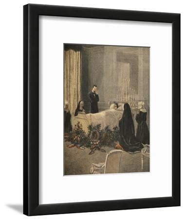 Madame Carnot on Her Deathbed, Illustration from 'Le Petit Journal: Supplement Illustre'