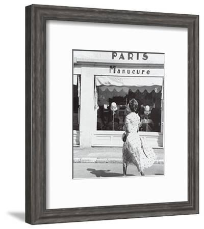 French Manicure--Framed Art Print