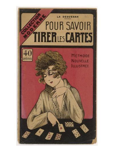 French Manual on How to Tell Fortunes with Playing Cards--Giclee Print