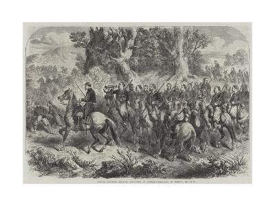 French Mounted Zouaves, Employed as Contre-Guerrillas in Mexico--Giclee Print