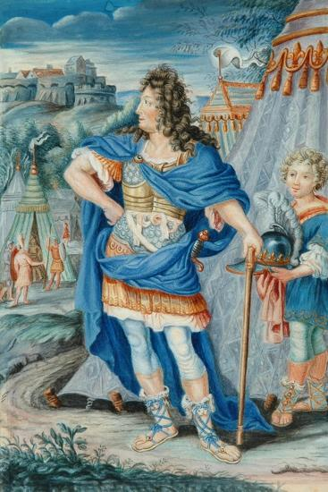 French Noble in Medieval Costume--Giclee Print