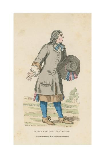 French Peasant, 17th Century--Giclee Print