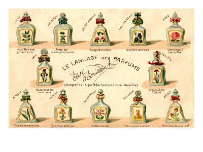 French Perfume Language--Art Print