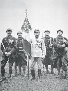 French Foreign Legion Regiment on the Western Front, 1917 by French Photographer