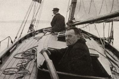 Hilaire Belloc in His Boat