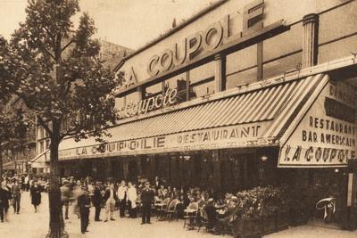 La Coupole, Montparnasse, Paris
