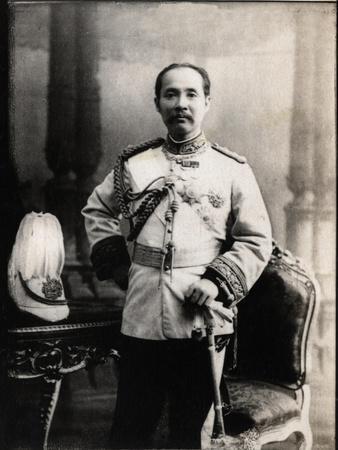 Portrait of Chulalongkorn (Rama V) (1853-1910), King of Siam (Thailand)