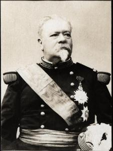 Portrait of Leopold Davout d'Auerstedt, 3rd Duc d'Auerstedt (1829-1904), French General by French Photographer