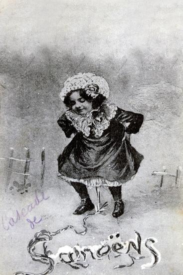 French Postcard, C1900--Giclee Print