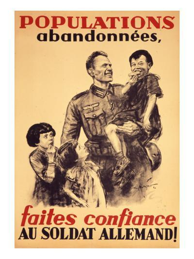 French Poster of the Occupation--Giclee Print