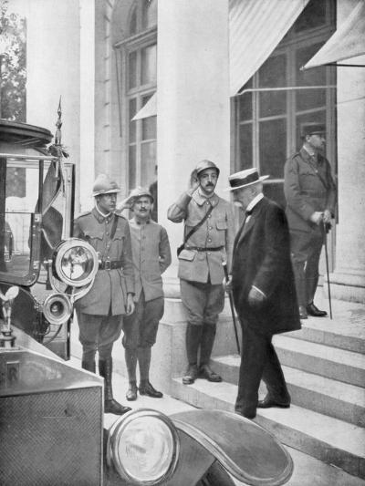 French Prime Minister Georges Clemenceau in Versailles, France 3 June 1918--Giclee Print