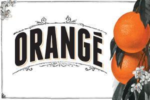 French Produce Orange