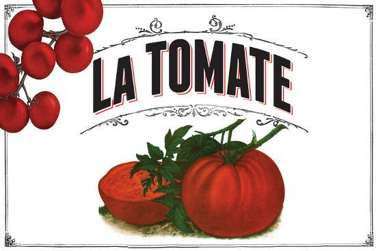 French Produce Tomato--Giclee Print