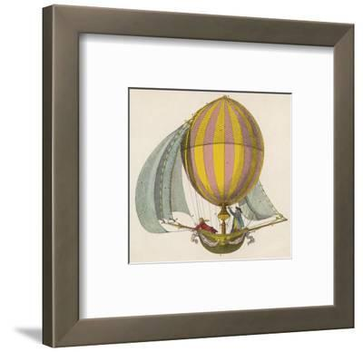 French Project for a Dirigible Balloon: by an Unidentified Inventor