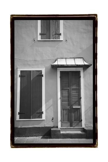 French Quarter Architecture III-Laura Denardo-Art Print