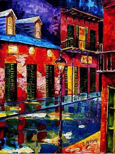 French Quarter Color-Diane Millsap-Art Print